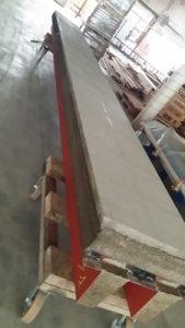 Fabrication de panneaux de four en atelier